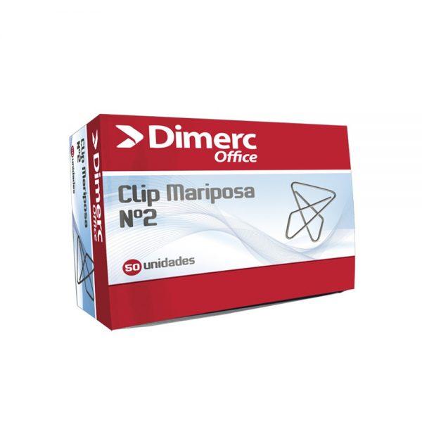 CLIPS MARIPOSA CHICO #2 45MM DIMERC