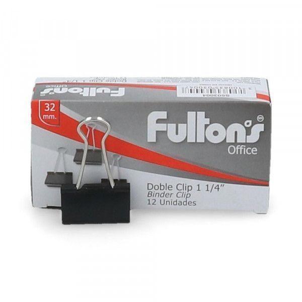 BINDER CLIPS 32MM FULTONS