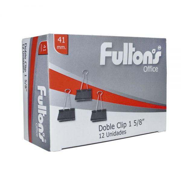 BINDER CLIPS 41MM 1 5 8 FULTONS